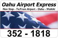 oahu airport express logo